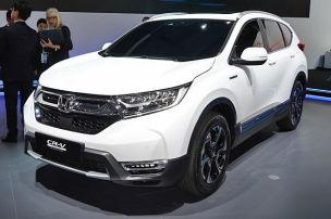 Honda zeigt CR-V Hybrid