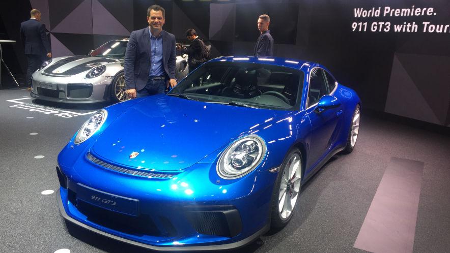 Video: Porsche 911 GT3 (IAA 2017) - AUTO BILD