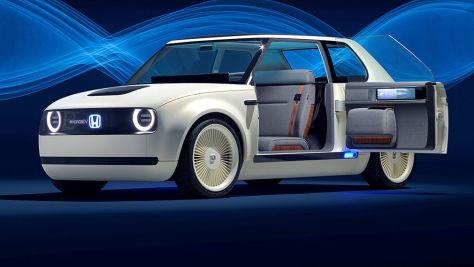 Neue E-Autos auf der IAA 2017