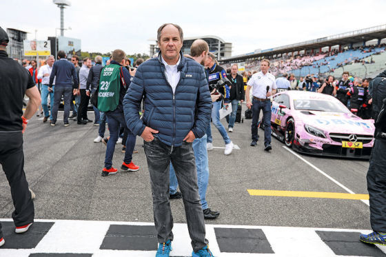 Treffen mit Gerhard Berger zu gewinnen!