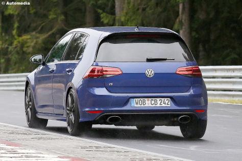 volkswagen golf r420 (2018): erlkönig - autobild.de