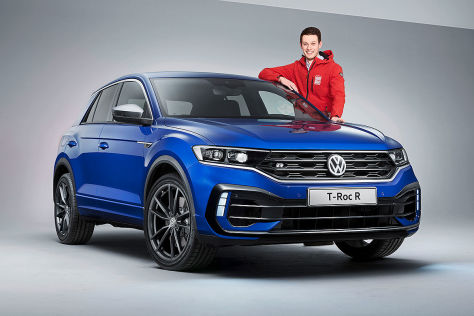 vw t roc r 2019 test preis motor ps technische. Black Bedroom Furniture Sets. Home Design Ideas