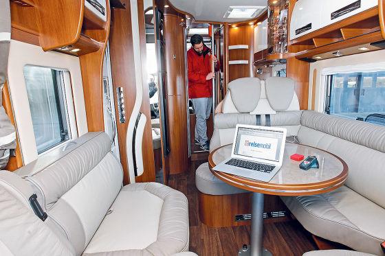 Carthago chic e-line I 51 QB S Linerclass