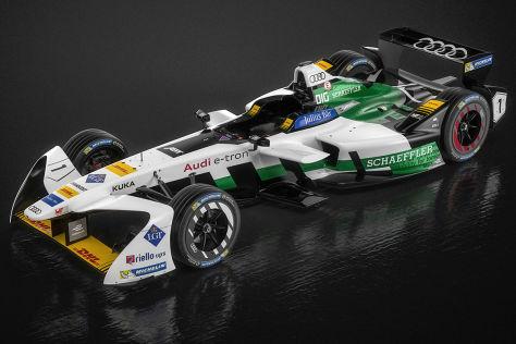 Formel E: Audi-Präsentation live