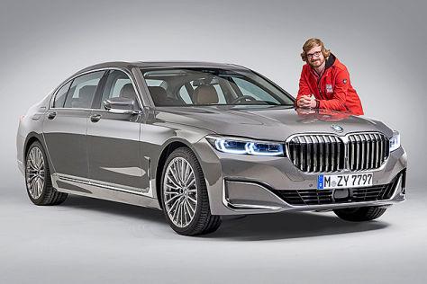 BMW 7er Facelift/LCI G11/G12 (2019): Test, Infos, M760Li ...