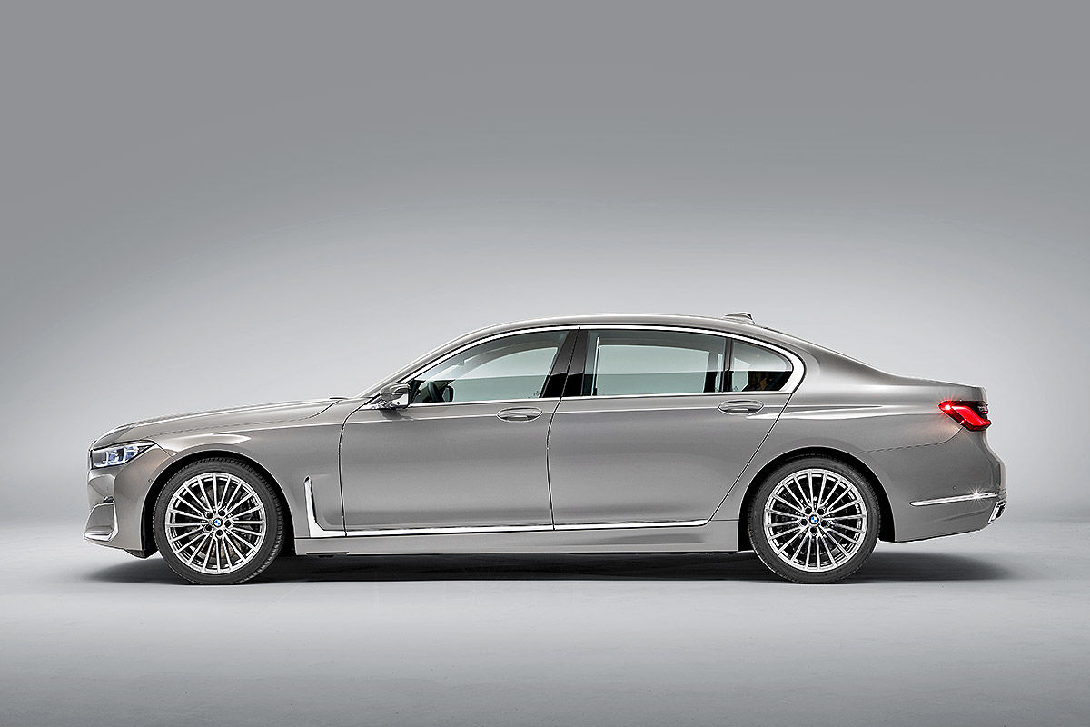 Bildergalerie BMW 7er Facelift (2019)