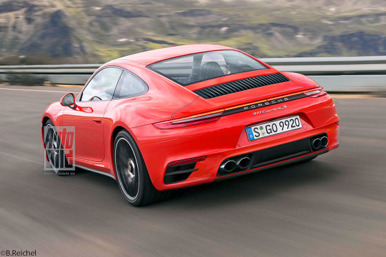 600 PS im Porsche 911 Turbo S