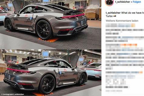 Porsche 911 Turbo 2019 992 Ps Preis Turbo S Erlkonig Autobild De