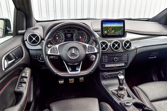 Mercedes B-Klasse 200 d AMG Line