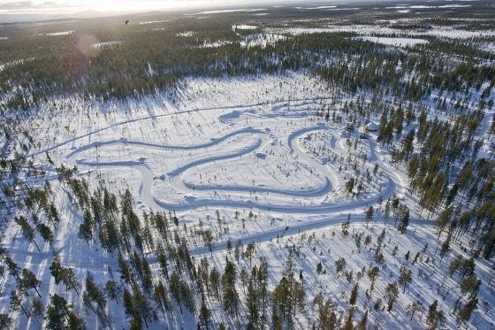 Levi Driving Center in Finnland