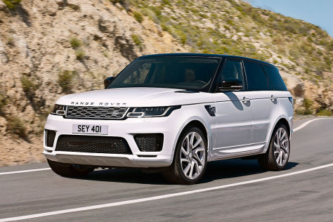 Rang Rover Sport Facelift (2017): Vorstellung