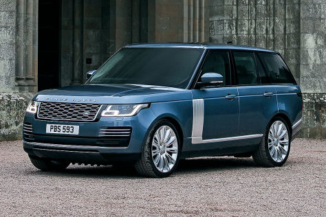 Range Rover Facelift 2017 Vorstellung Motoren Infotainment