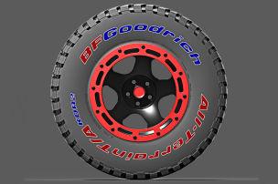 BFGoodrich All-Terrain T/A KDR2+