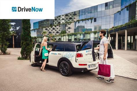 Gratisaktion: DriveNow-Gutschein