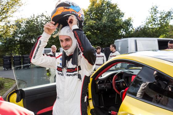 Lars Kern und Porsche 911 GT RS