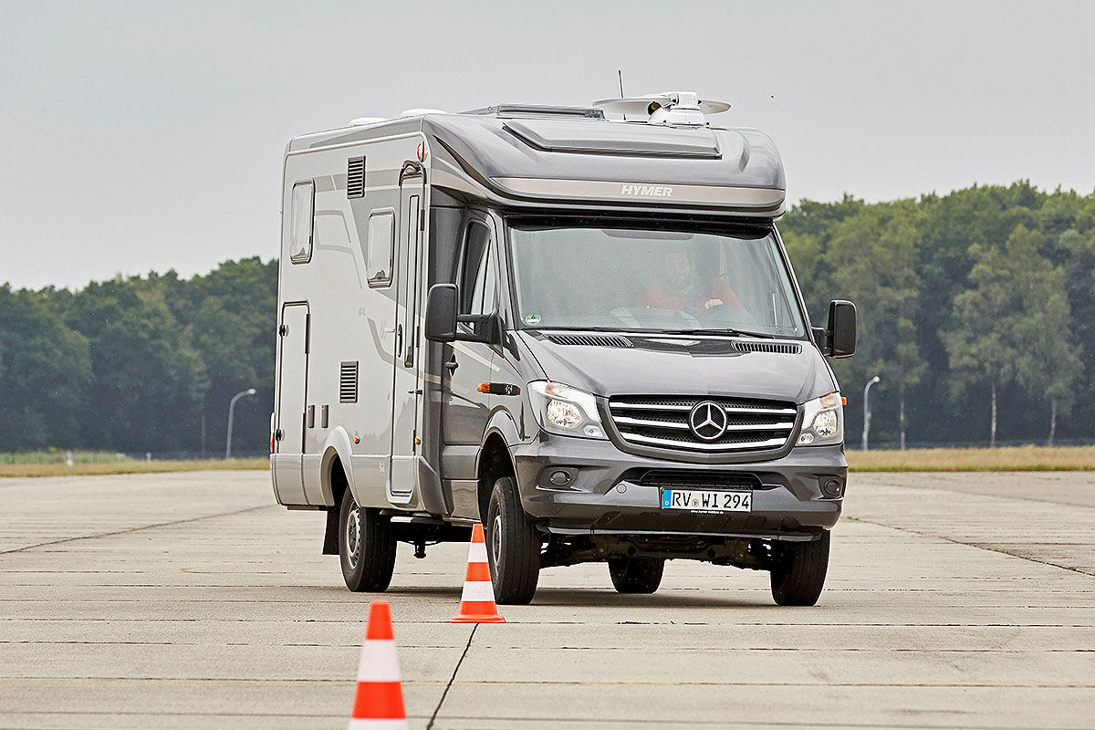 Wohnmobil-Test Hymer ML-T 570 4x4