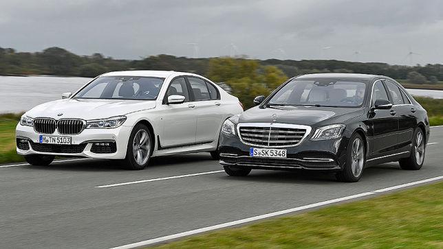 Luxuslimousinen Mercedes S Klasse Und Bmw 7er Im Test Autobild De