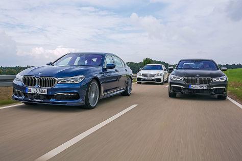 Luxus Und Sport B7 M760il Und S 63 Im Vergleich Autobildde