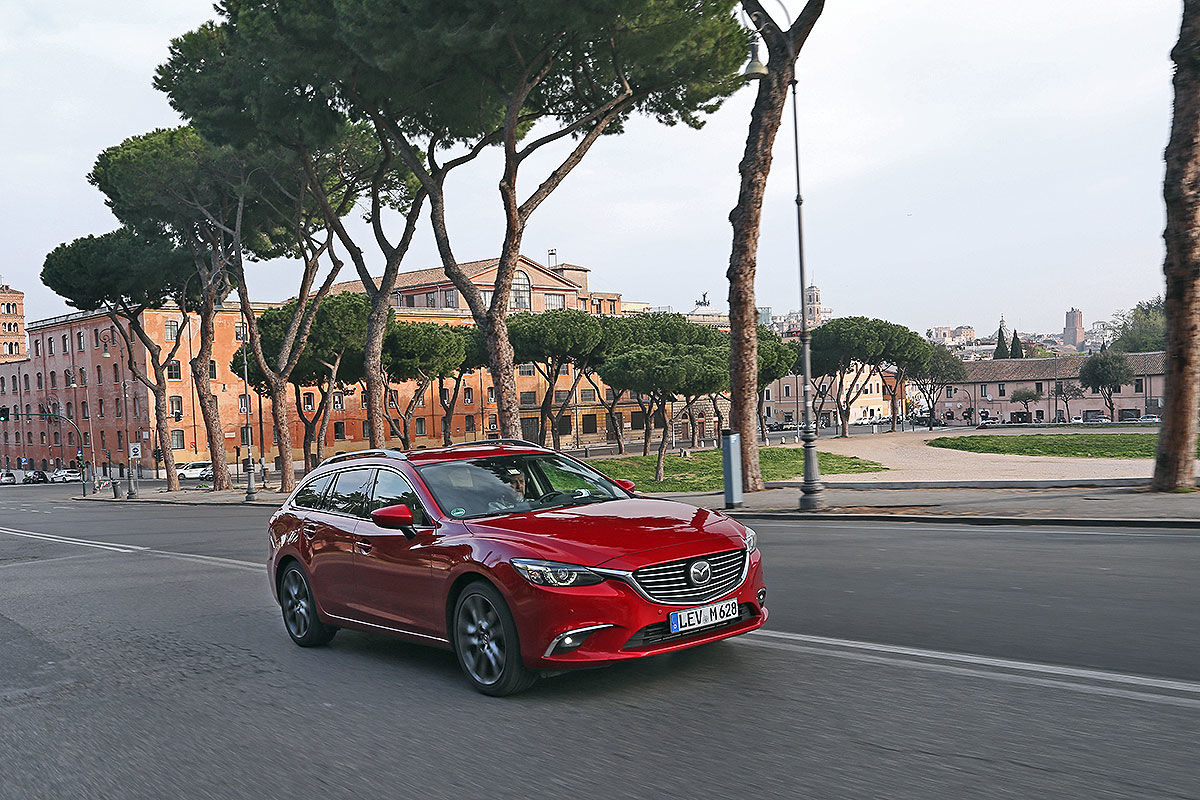 Mazda6 Kombi im 100.000-Kilometer-Dauertest