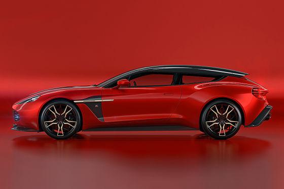 Neues Design Stück für Aston Martin