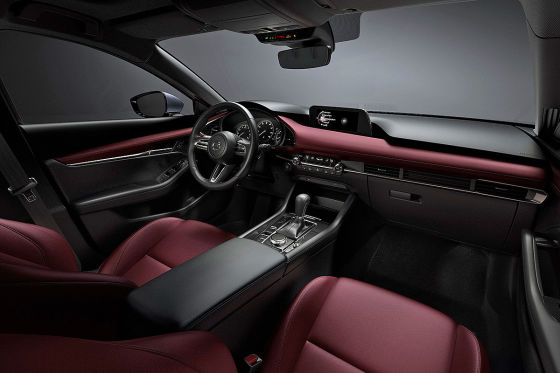 Erster Ausblick auf den Mazda3