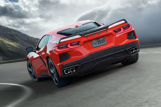 Chevrolet Corvette C8 (2020): Motor, Preis, Bilder, C8.R ...