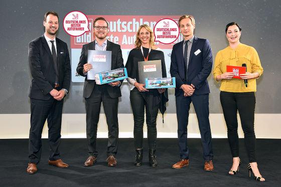 Deutschlands beste Autofahrer: die Sieger!