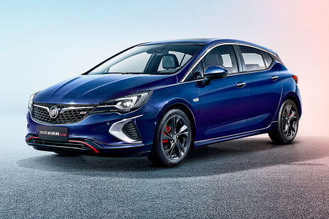 Opel Astra GSi (2018): Motor und erste Infos - autobild.de