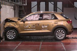 VW T-Roc, Skoda Karoq, Opel Crossland X: Euro NCAP Crashtest 2017