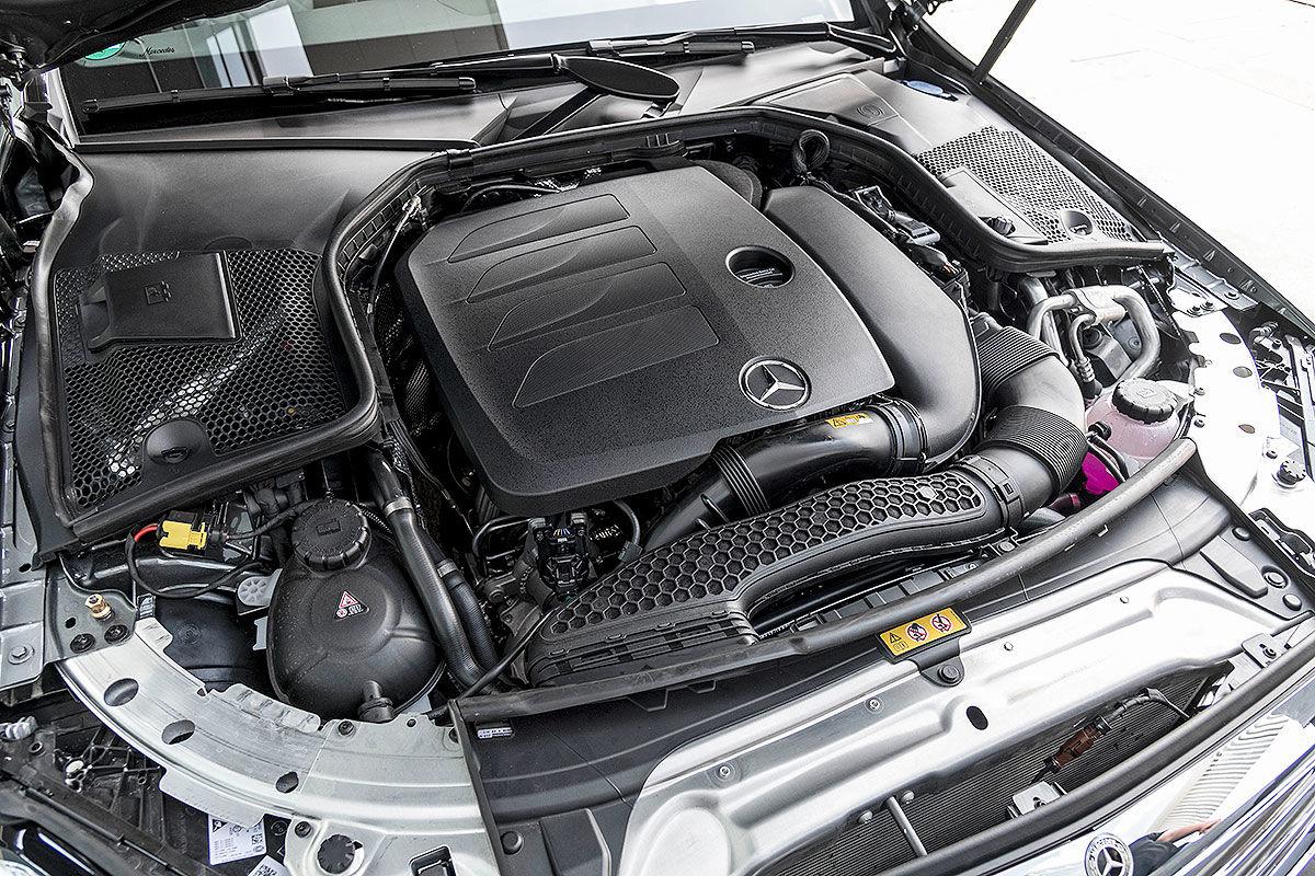 Mercedes C-Klasse Facelift (2018): W205, Motoren, Fotos
