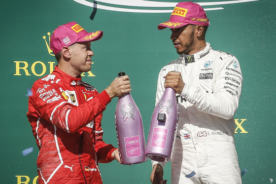 Hamilton vs. Vettel