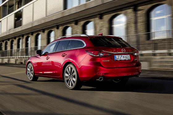 Mazda6 mit neuen Innenraum