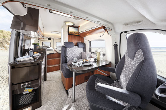 Hobby VANTANA-Reisemobil