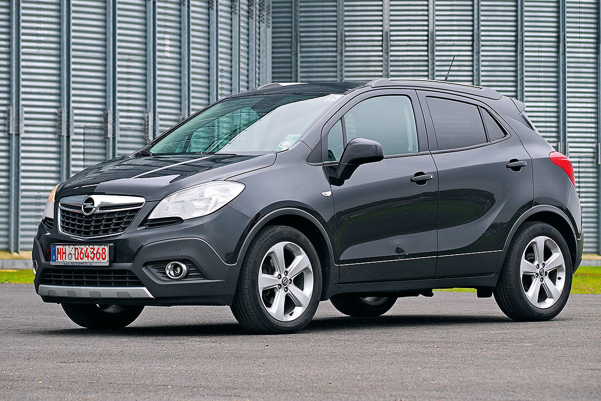 gebrauchtwagen test opel mokka bilder. Black Bedroom Furniture Sets. Home Design Ideas