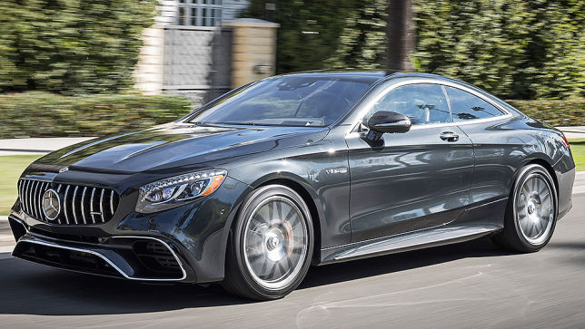 s63 amg coupe 2018