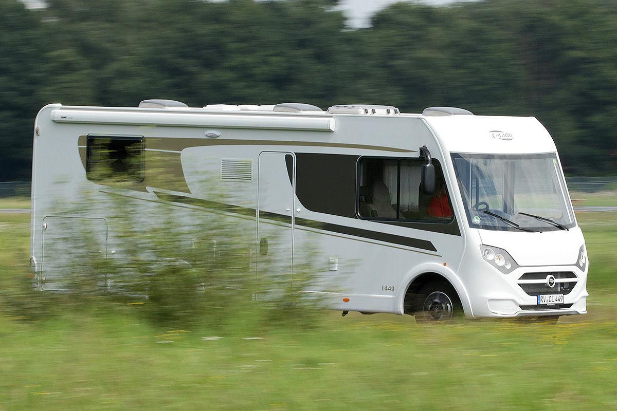 Wohnmobil-Test Carado I 449