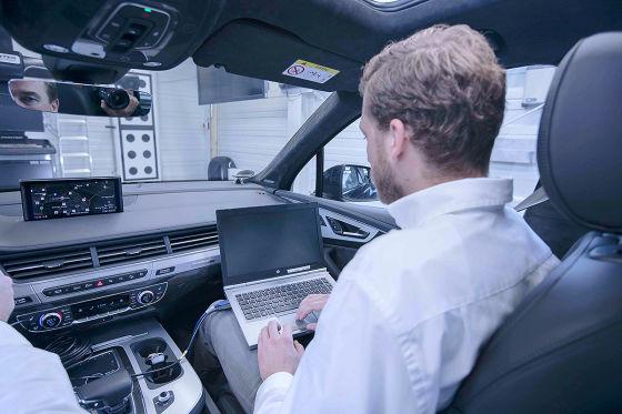 So testet Audi die Autos von morgen