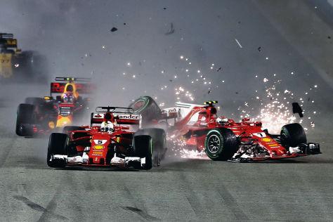 Formel 1: Top 10 Crashs 2017