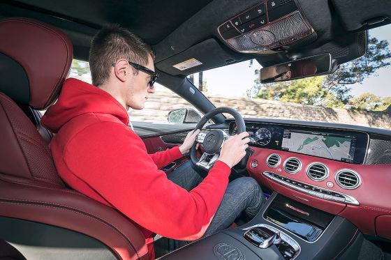 So fährt das größte AMG-Coupé