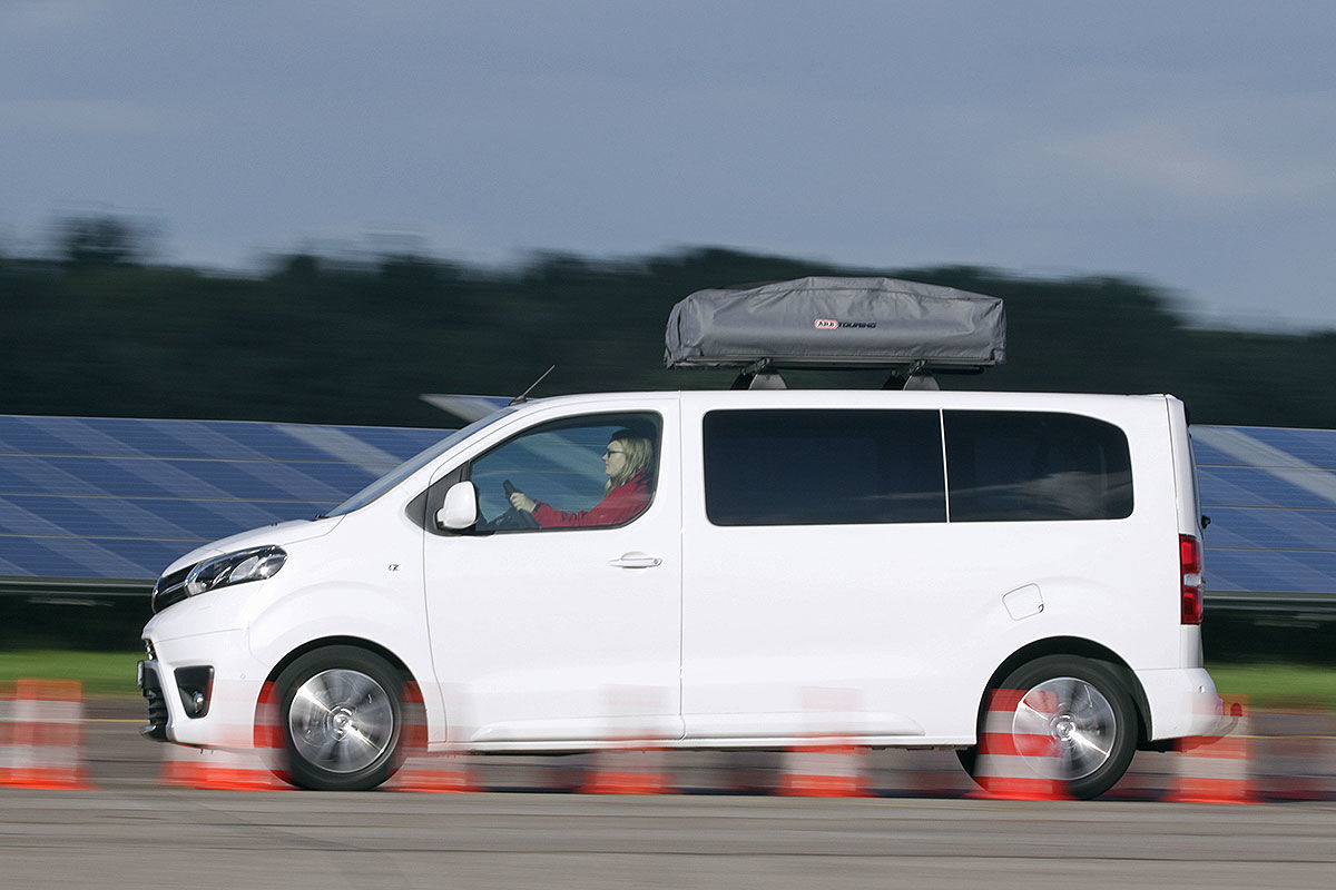 Wohnmobil-Test Toyota Proace Verso Camper