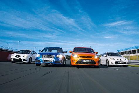 leon cupra, s3, focus st, 3 mps: gebrauchtwagen-test - autobild.de