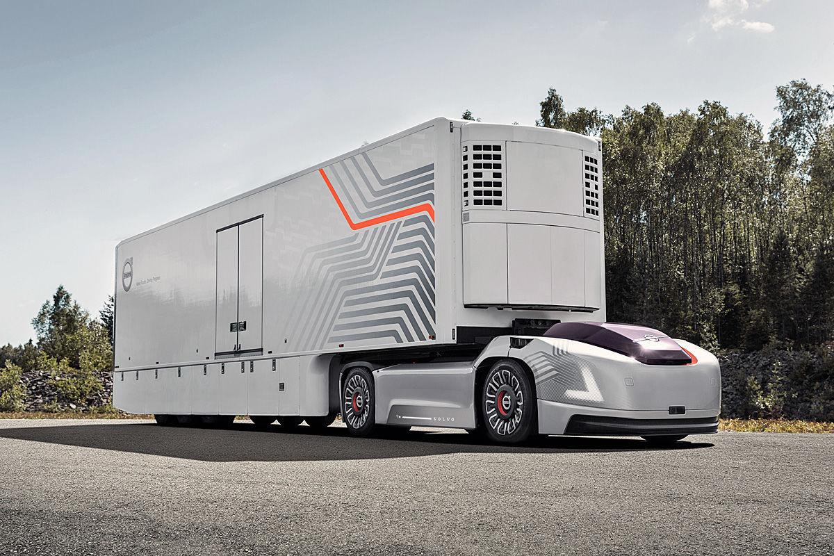 Volvos For Sale >> E-Lkw: Diese Trucks fahren elektrisch - Bilder - autobild.de