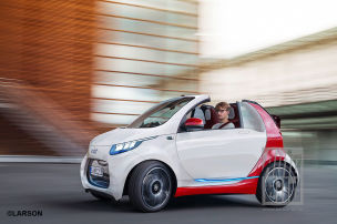 E-Cabrio fährt länger