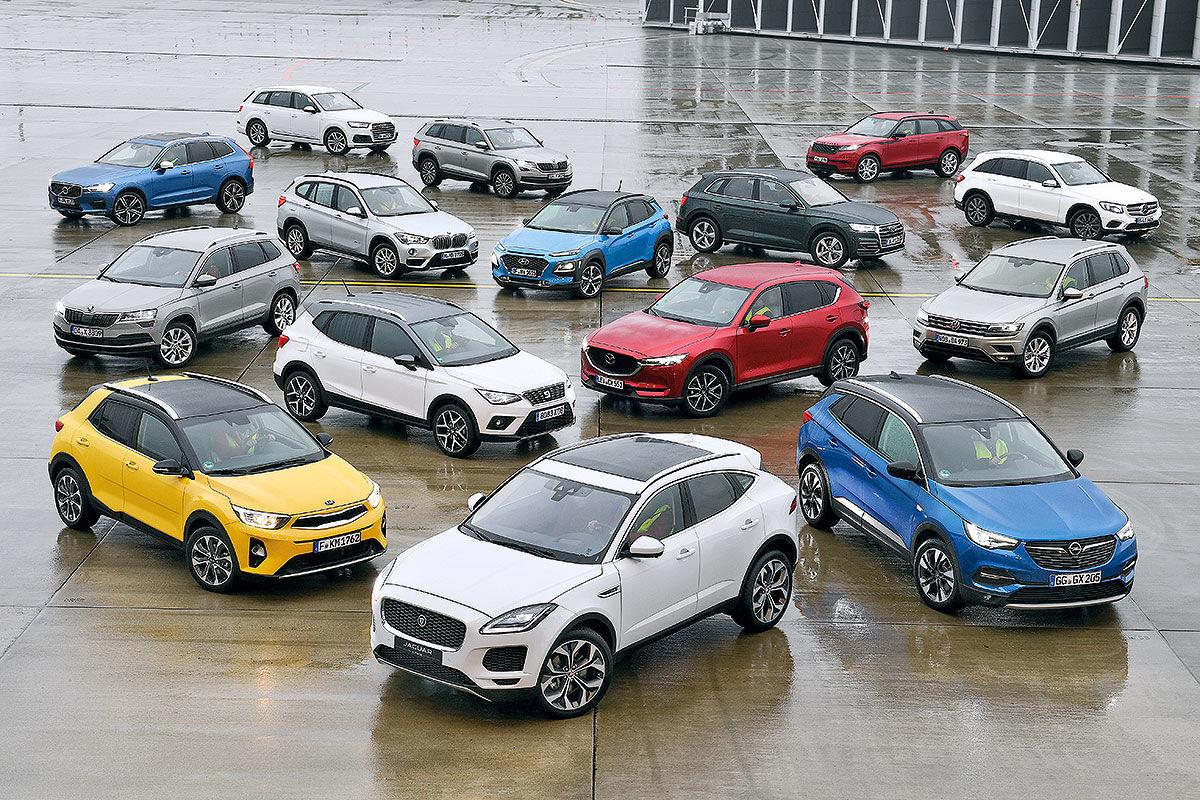 Die 100 besten SUVs
