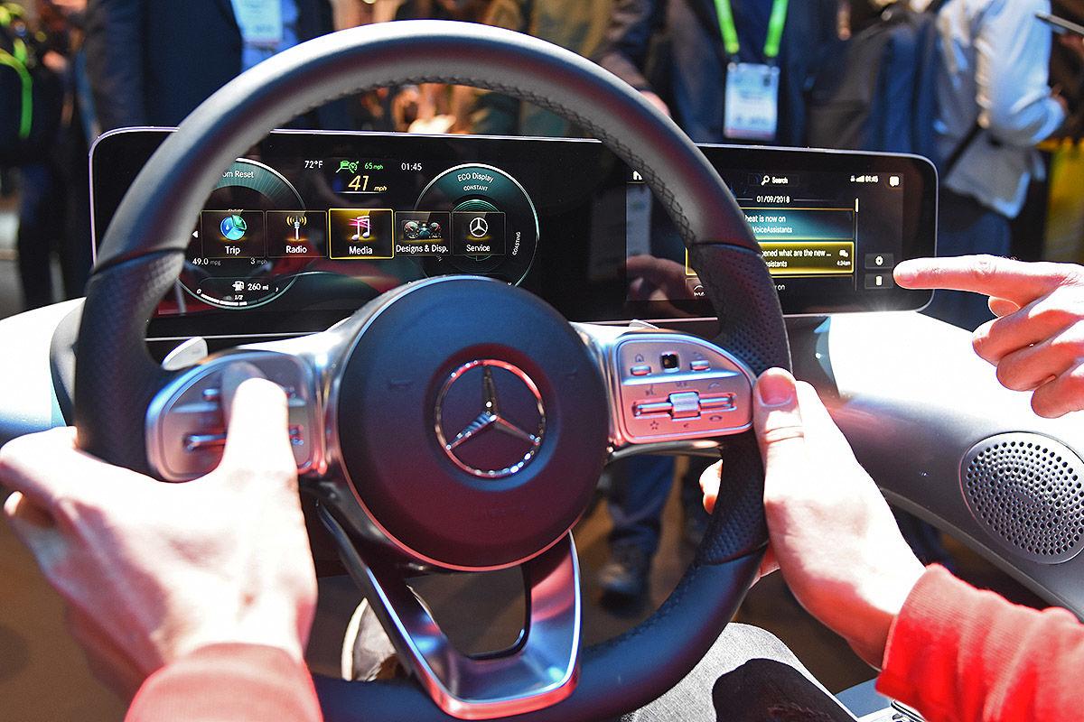 Mercedes MBUX Infotainmentsystem (2018)