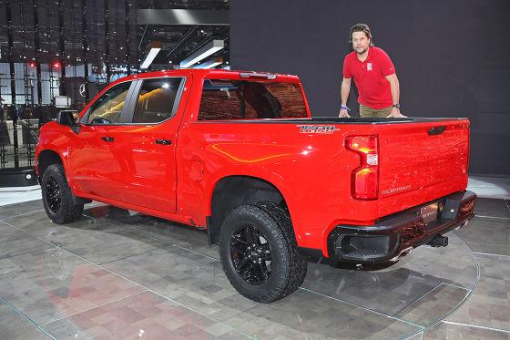 Chevy Pick-up wird leichter!