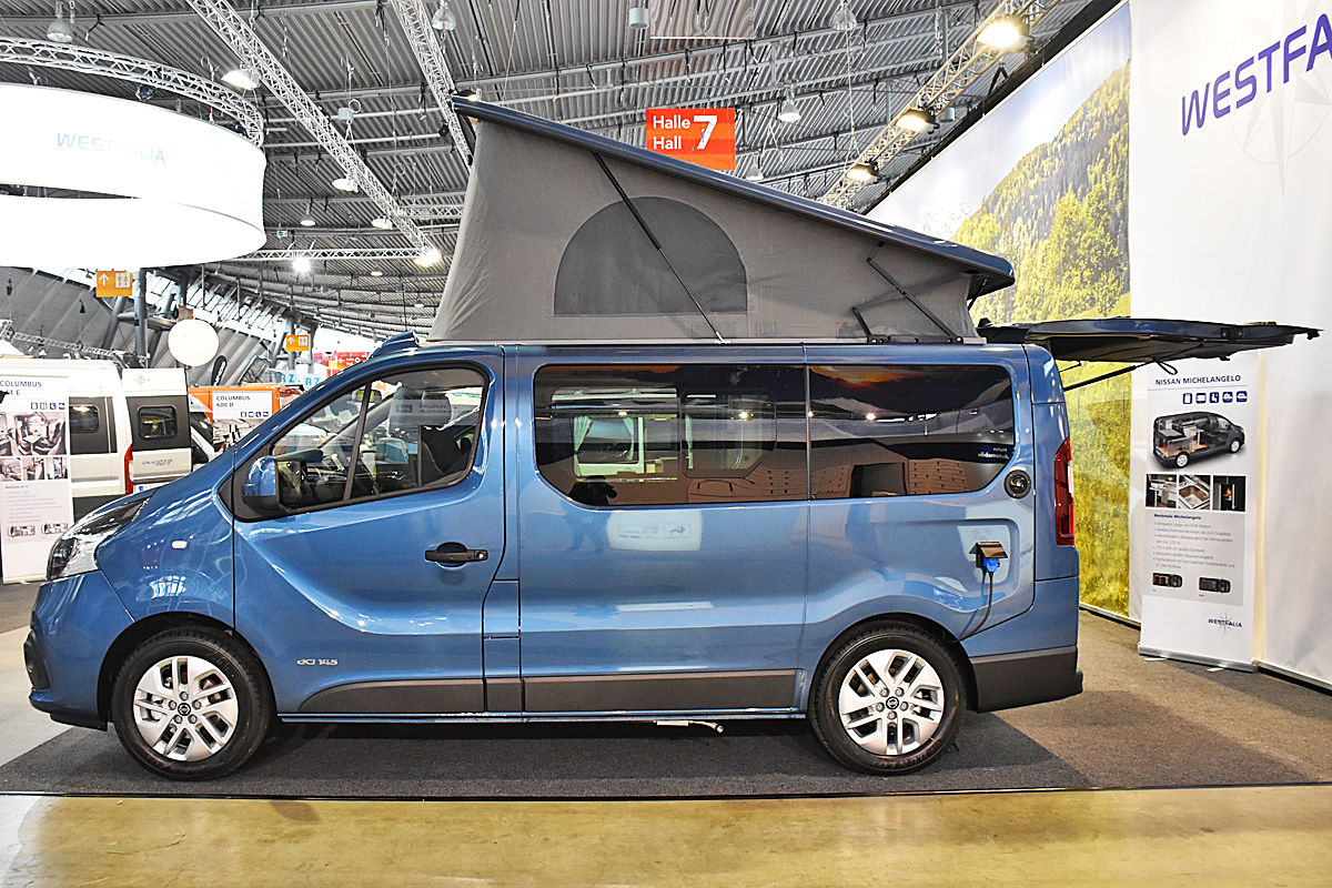 nissan nv300 camper von westfalia bilder. Black Bedroom Furniture Sets. Home Design Ideas
