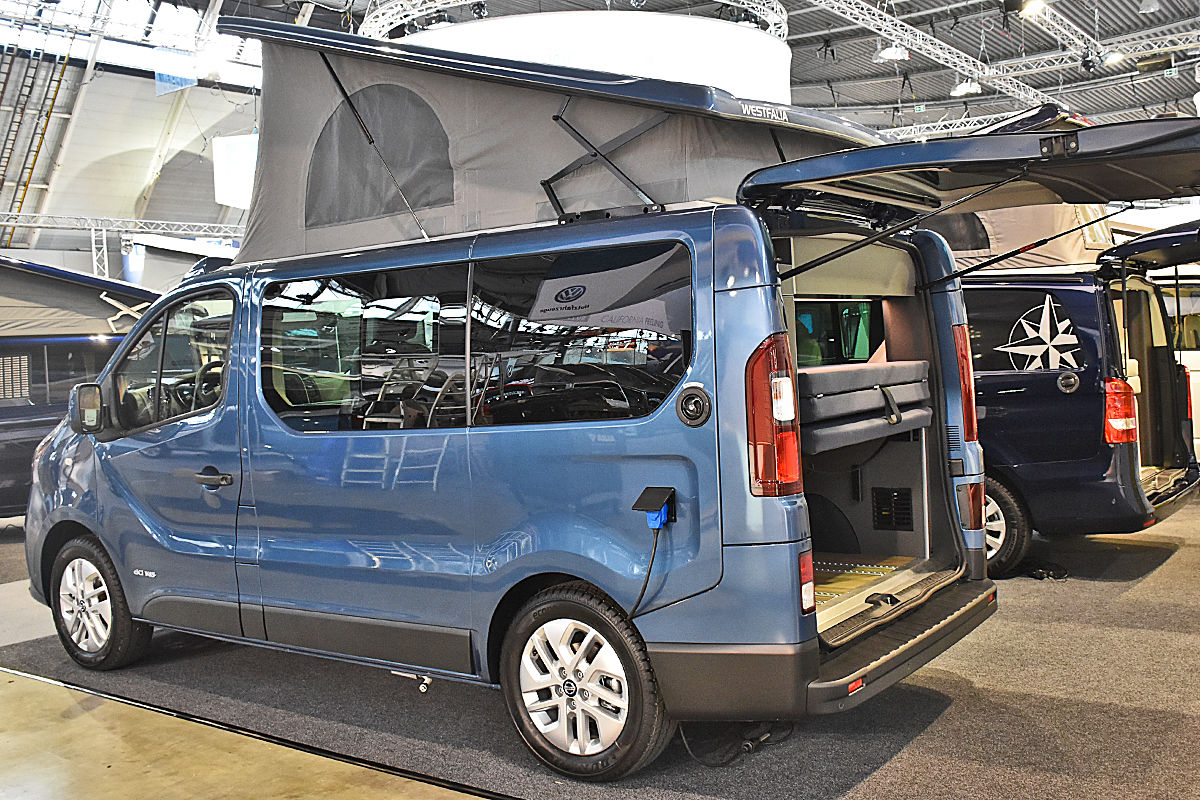 Der Nissan NV 300 umgebaut zum Westfalia-Reisemobil Michelangelo
