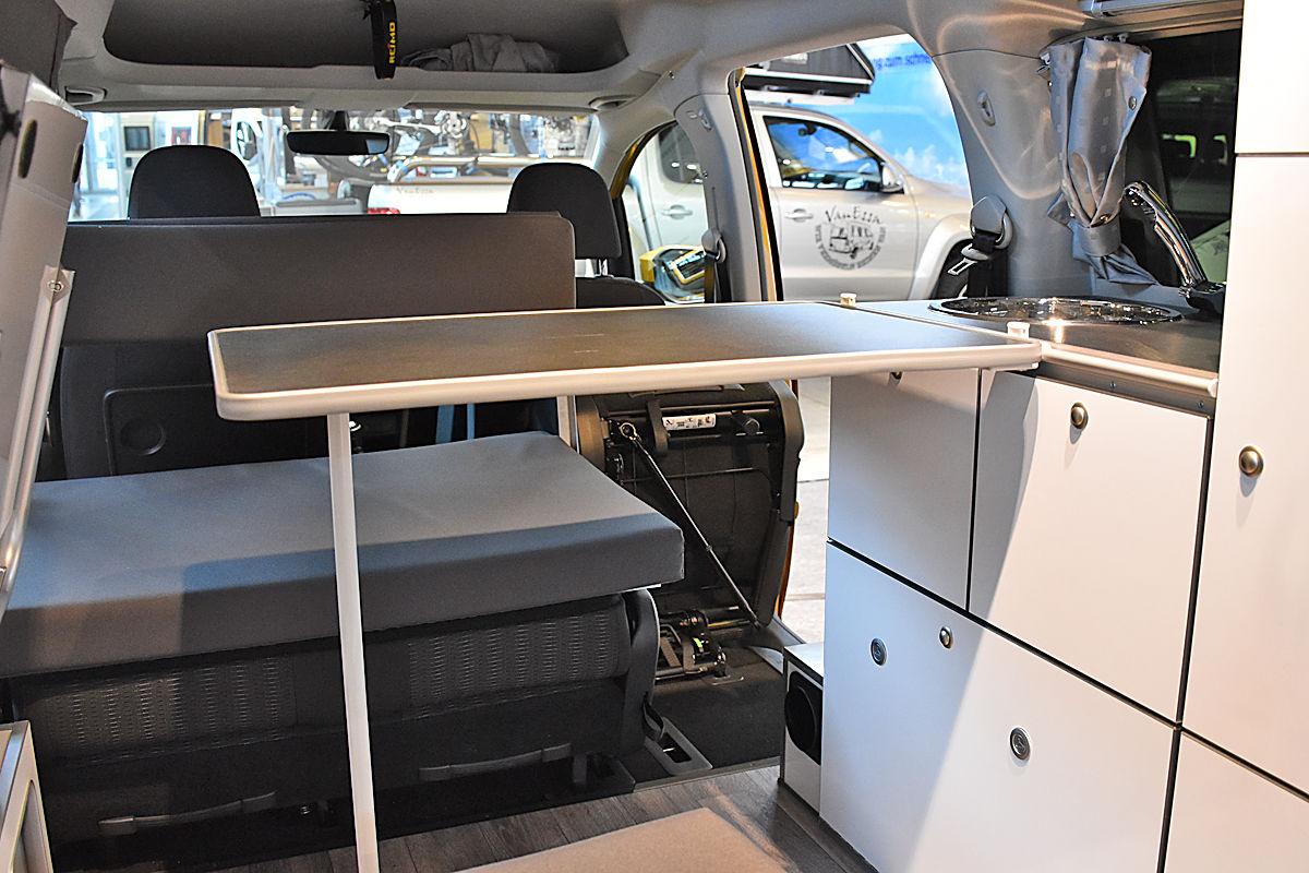 VW Caddy als Reimo Camp
