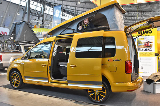 VW Caddy Maxi als Reimo Camp